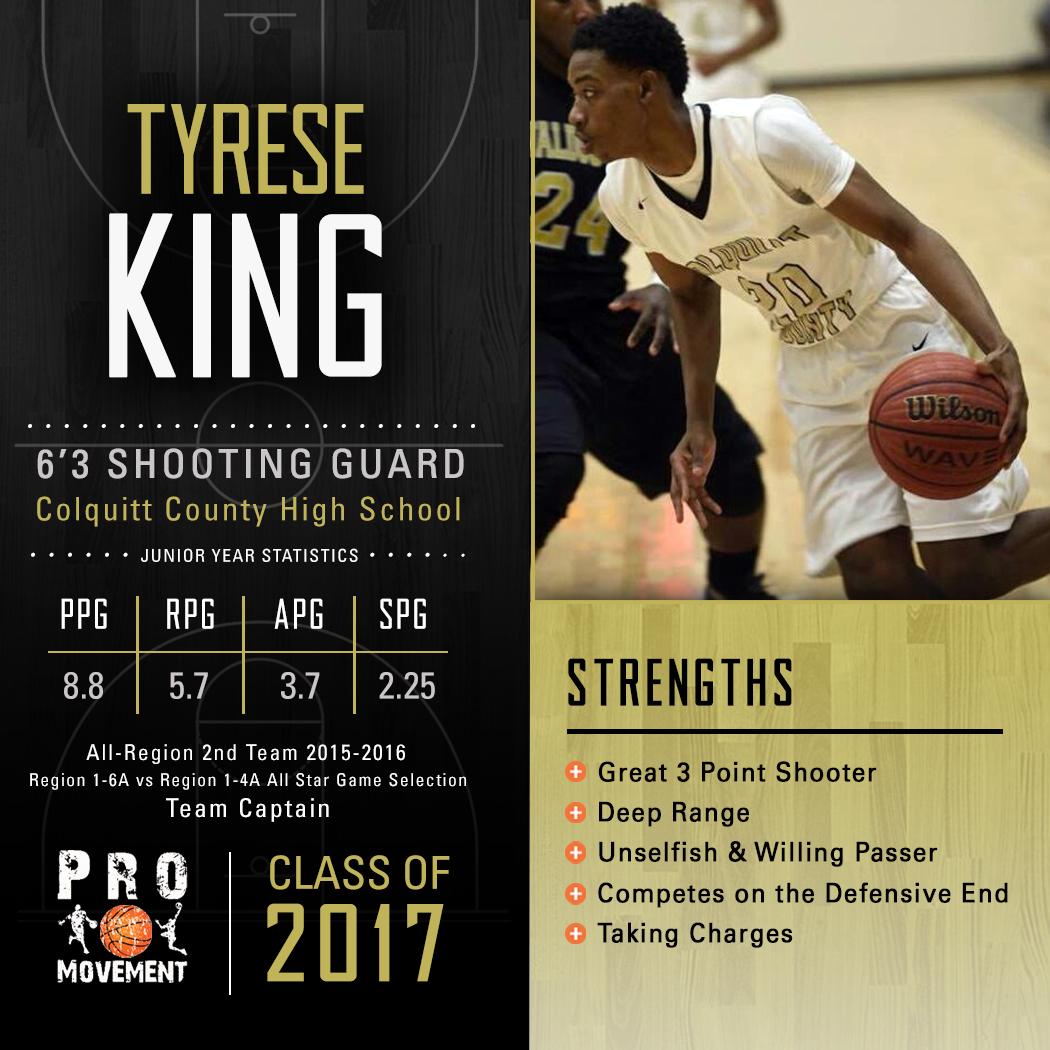 Tyrese King