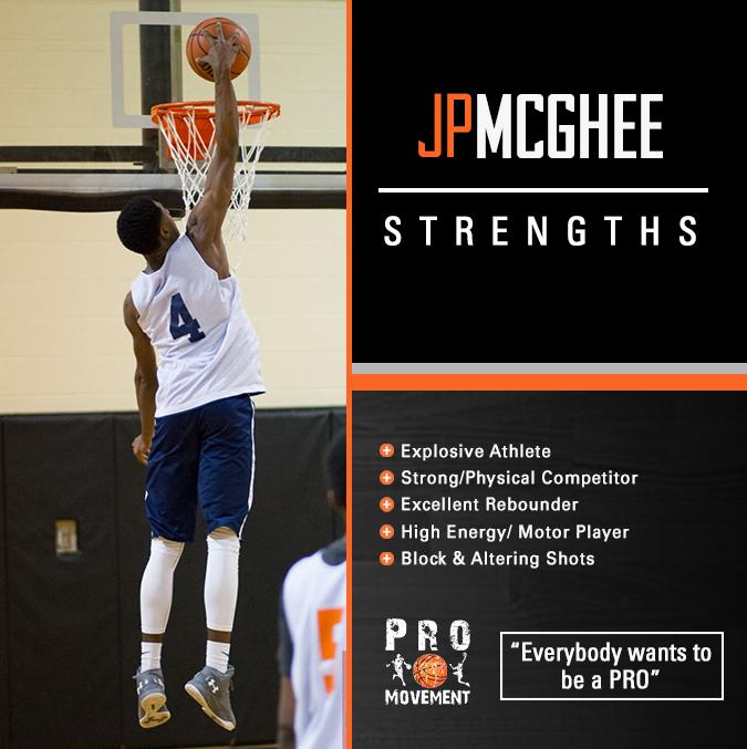 JP McGhee strengths