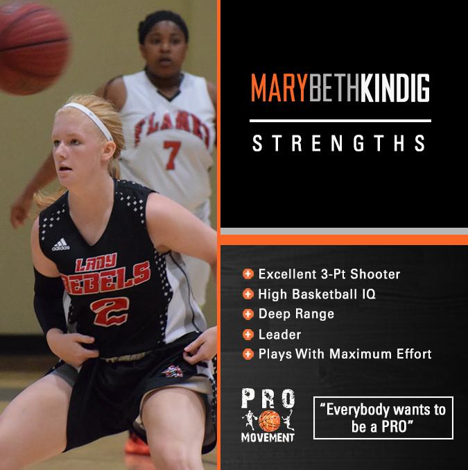 Mary Beth Kindig Strengths