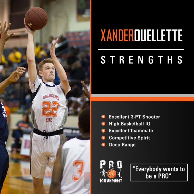 Xander Ouellette -strengths